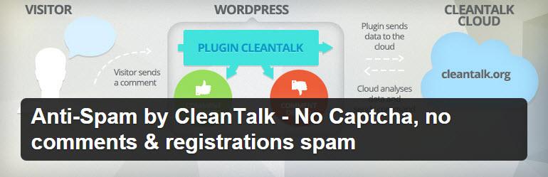 CleanTalk Header