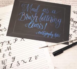 Brush Calligraphy Course