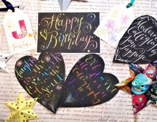 Modern Calligraphy Art with Jane Lappage
