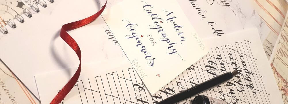 Online Modern Calligraphy Course